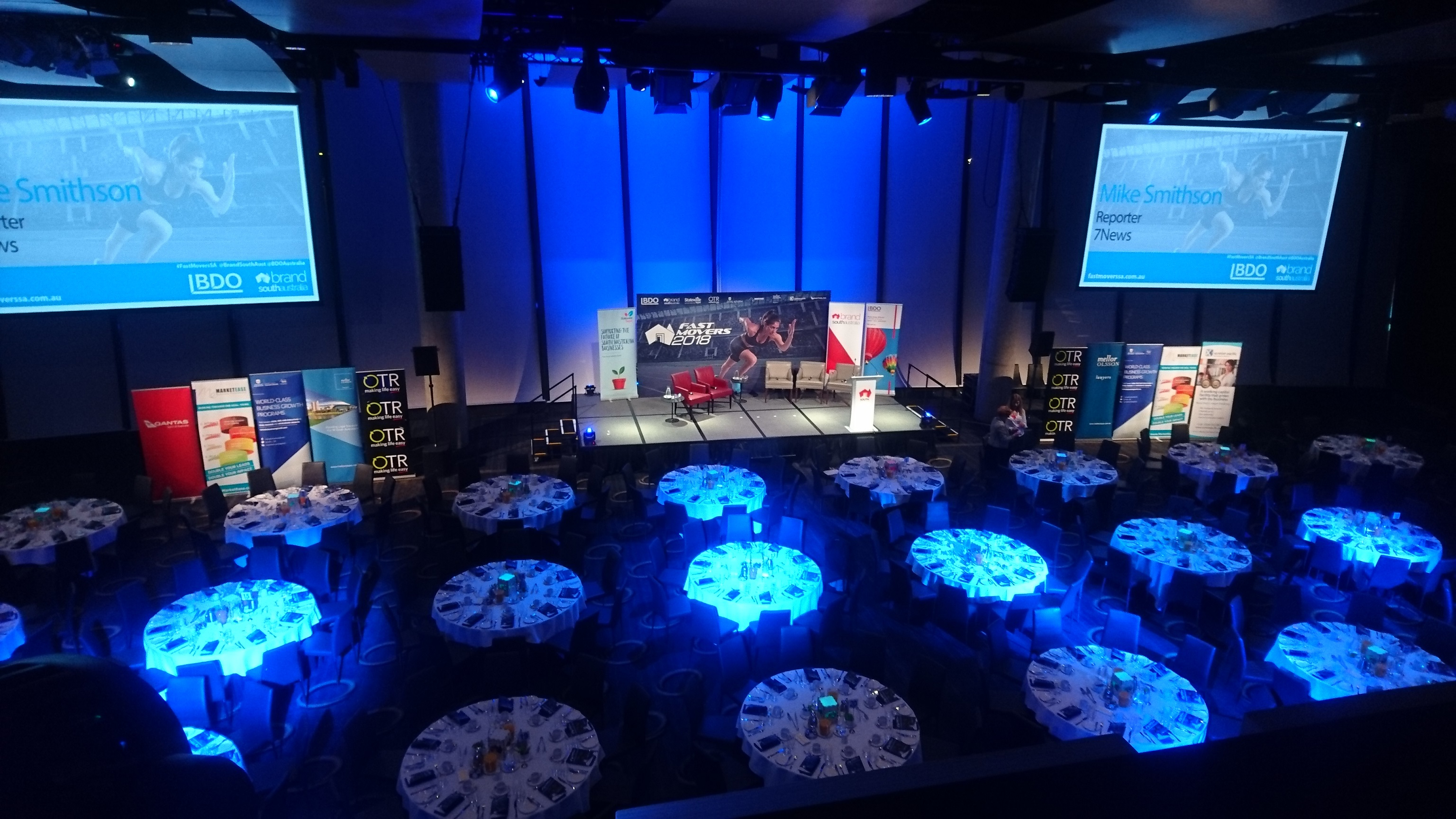 Lighting and AV hire in adelaide for weddings and corporate events